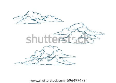 Cloud Drawing Download Free Vector Art Stock Graphics Images