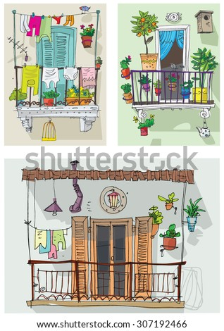 Free stock photo of the balcony freerange stock for Balcony cartoon