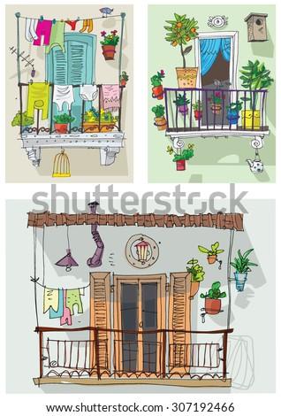 Free stock photo of the balcony freerange stock for Balcony cartoon