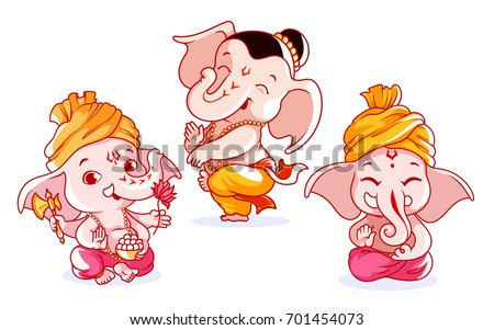 free ganesh vector download free vector art stock graphics images
