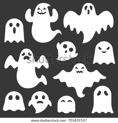 set of cute ghost creation kit