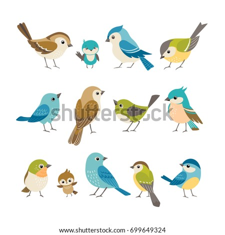 stock-vector-set-of-cute-little-colorful-birds-isolated-on-white-background