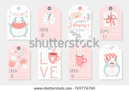 Cute Valentine S Day Badges Download Free Vector Art Stock
