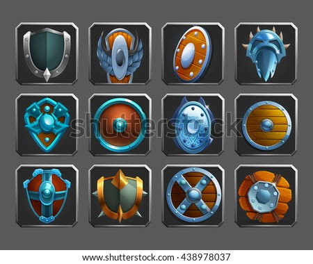 set of decoration icons for