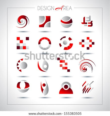 set of design elements for your
