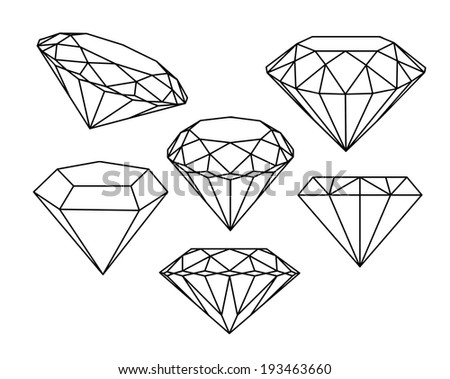 how to draw a diamond pattern with no gap