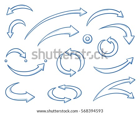 set of different curved and