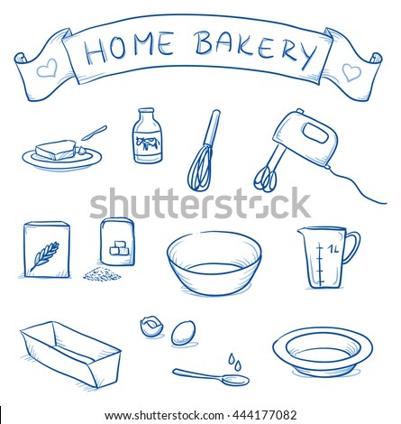 set of different icons for home