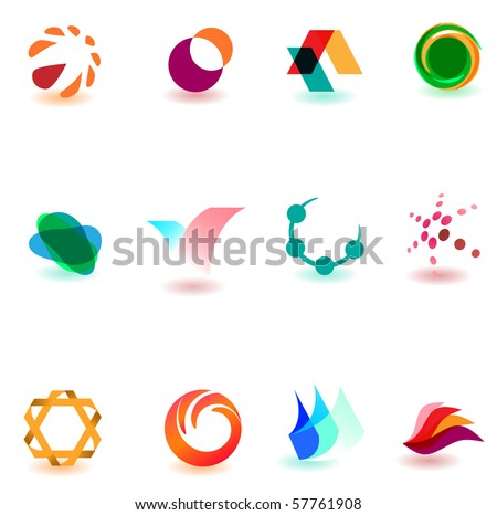 set of different icons for your