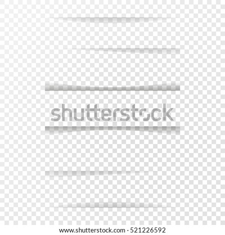 Shutterstock Set of different shades on a sheet of paper. Apply transparency effect to your background color.