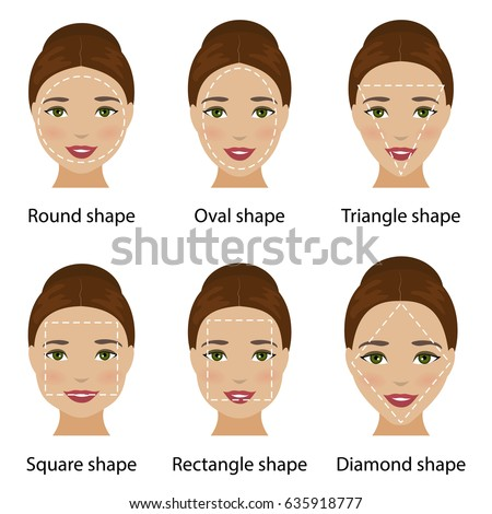 Fantastic Face Shape Vector At Vectorified Com Collection Of Face Shape Natural Hairstyles Runnerswayorg