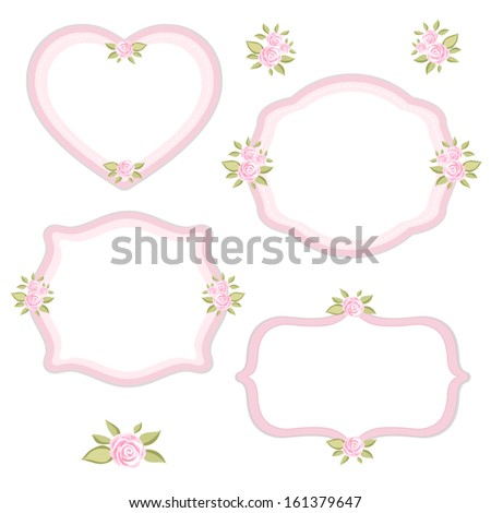 Vector Images Illustrations And Cliparts Set Of Different Vintage