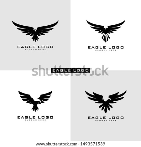 Set of Eagle Logo Vector symbol Foto stock ©