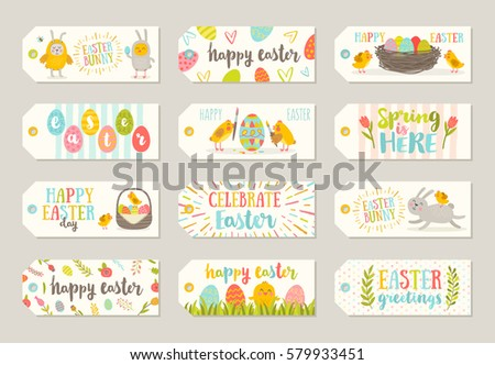 Free easter gift tag vector collections download free vector art set of easter gift tags and labels with cute cartoon characters and type design easter negle Choice Image