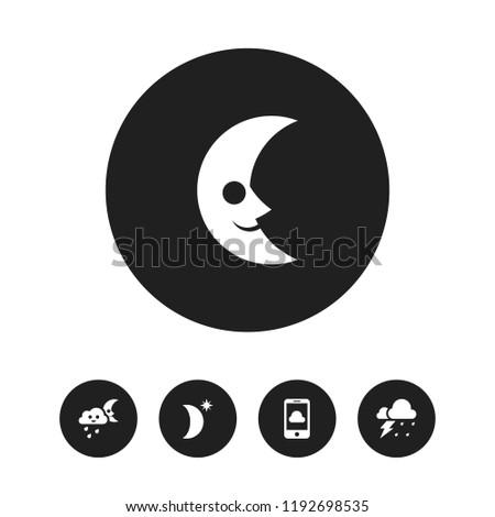 set of 5 editable air icons