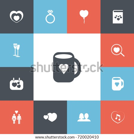 set of 13 editable amour icons