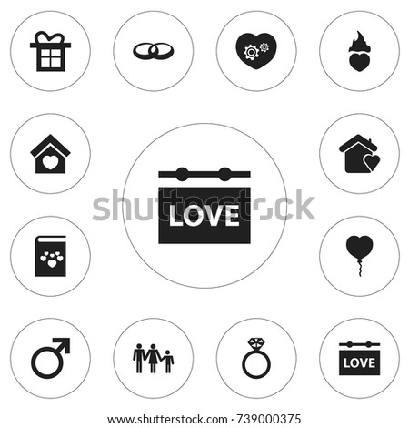 set of 12 editable amour icons