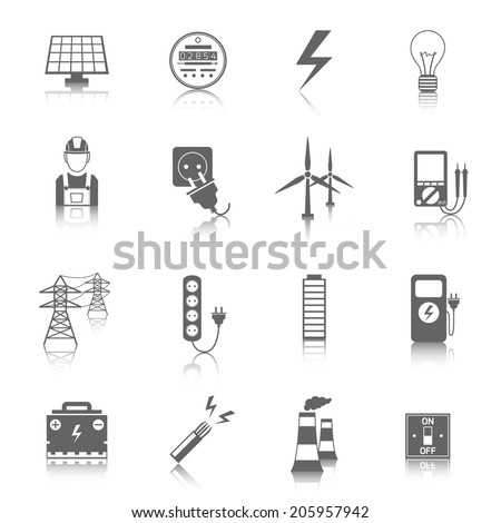 set of electricity energy