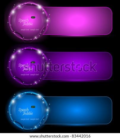 Set of Elegant Eps10 Banners