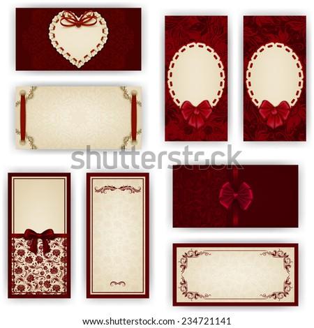 set of elegant templates for