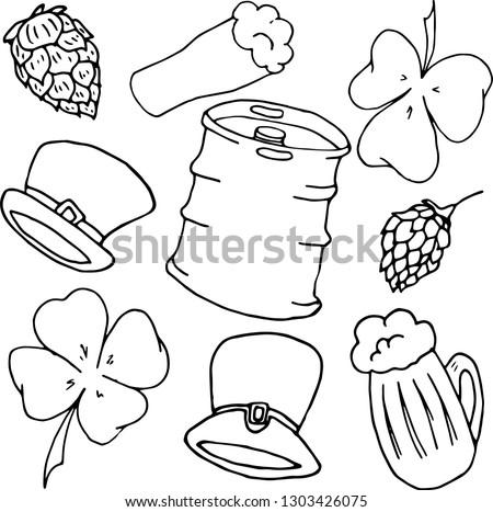 St Patricks Day Doodles