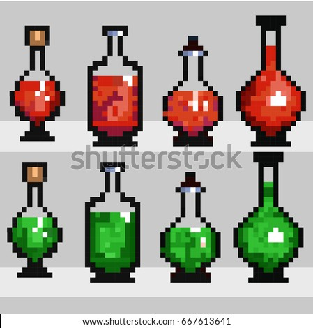set of elixirs