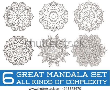 Ausgezeichnet Mandala Farbseiten Ideen - Beispielzusammenfassung ...