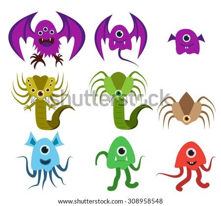 set of evolution of alien