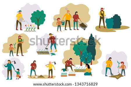 set of farmers or agricultural