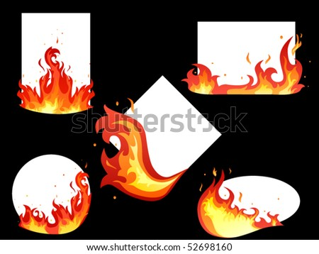 set  of fire tags