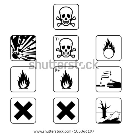 Set of flammable symbols, isolated on white, vector flammable flammable flammable flammable flammable flammable flammable flammable flammable flammable flammable flammable flammable flammable