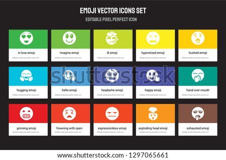 Vector Silent Emoji Icon - Download Free Vector Art, Stock