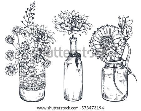 Flower Vector Bouquet