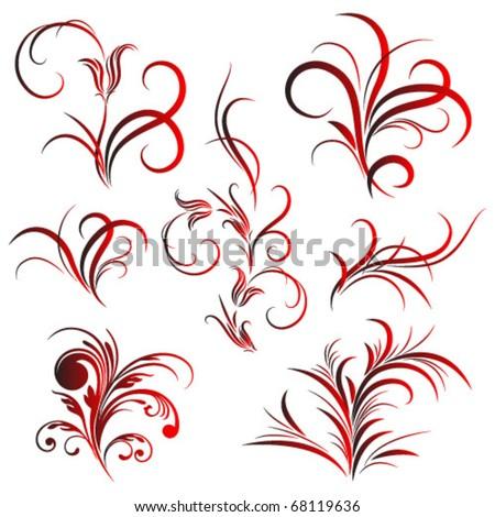 flower pattern tattoo. of flower pattern, tattoo