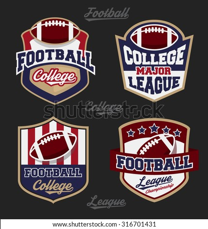 set of football college league