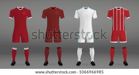 set of football kit liverpool