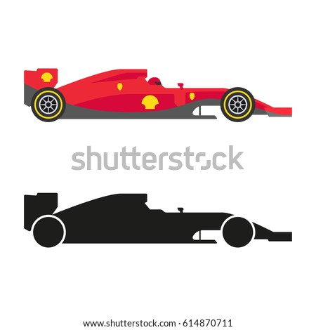 set of formula 1  one  racing