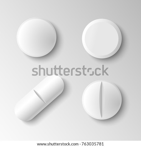 set of four different vector