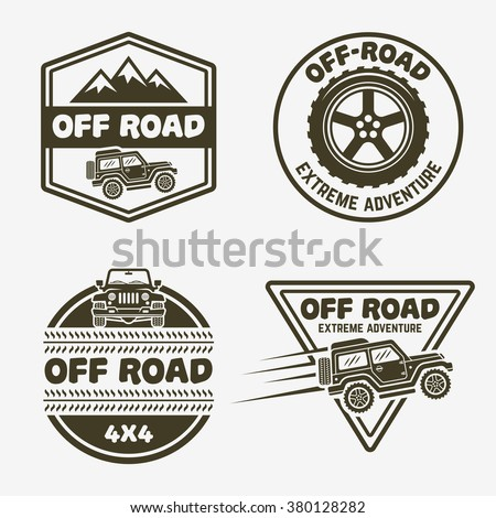 4x4 off road logo vector eps download seeklogo for 4x4 label template