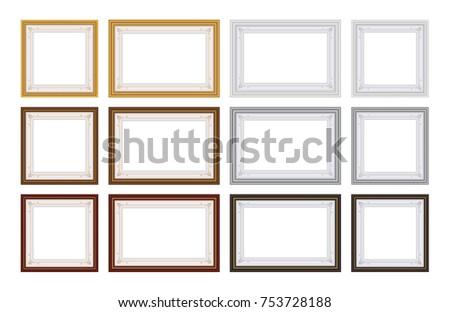 Photo Frames Creative Borders In Vector Download Free Vector Art