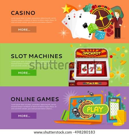 online slot machine game gaming logo erstellen