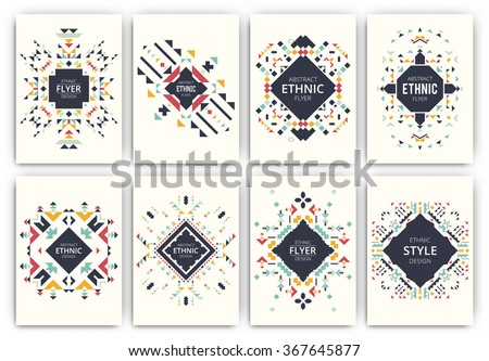 set of geometric abstract