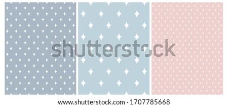 set of 3 geometric seamless