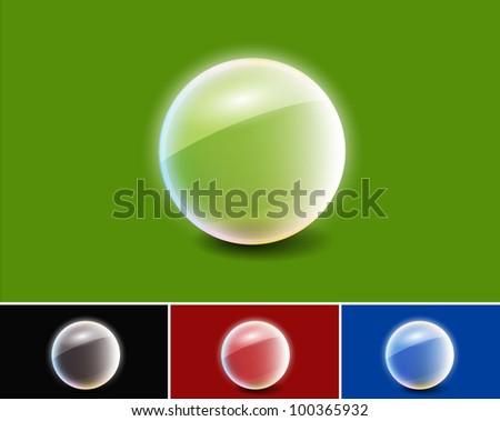 set of glass vector glass framework design.