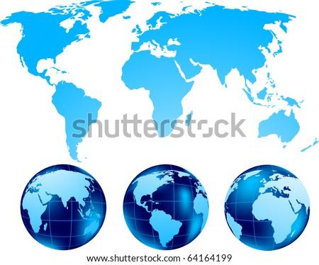 Set of globe