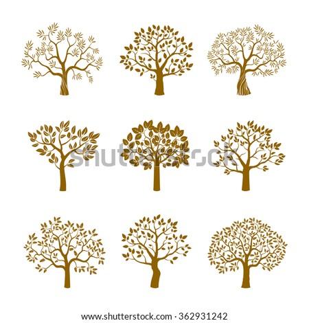 set of golden vector trees