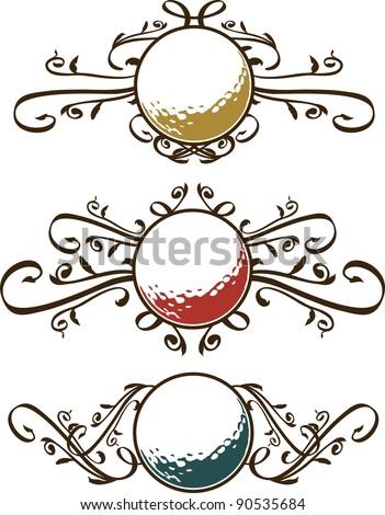 Free Golf Balls Borders