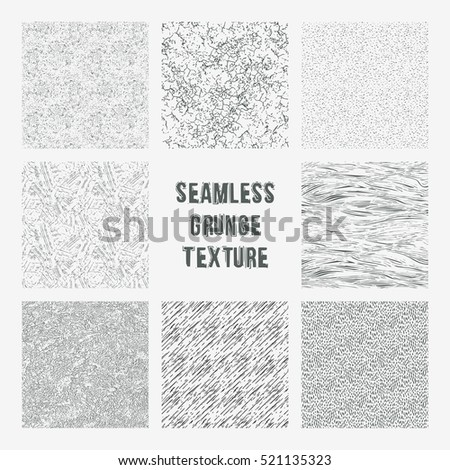 stock-vector-set-of-grange-seamless-patterns-simple-vector-scratch-textures-with-dots-strokes-and-doodles