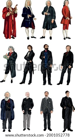 set of 12 great classical