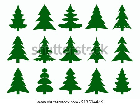 Free Pine Trees Vector Download Free Vector Art Stock Graphics